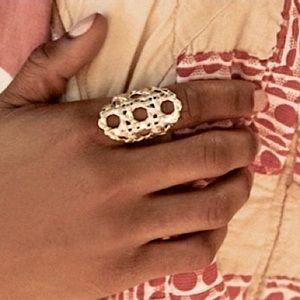 ✂️KENDRA SCOTT Natalie Statement Ring In Gold